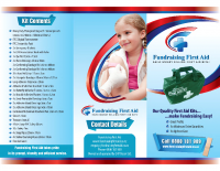 Fundraising First Aid Brochure
