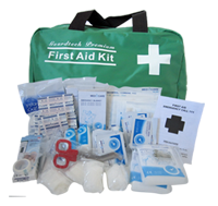 Large Premium First Aid Kit (sample cost $27.95)
