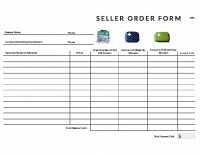2019 Seller Order Form – All Kits